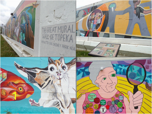 chesney mural collage