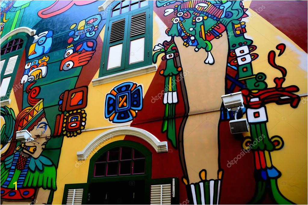 depositphotos stock photo wall mural at haji lane