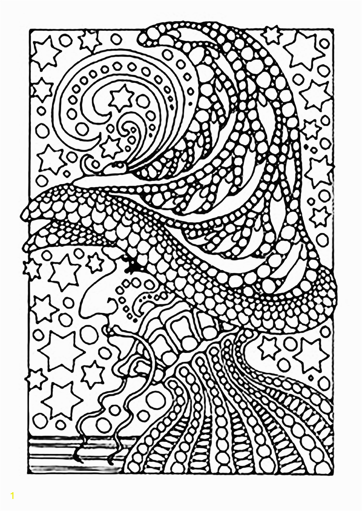 Halloween Coloring Math Pages A Scary Witch Color All these Stars From the Gallery