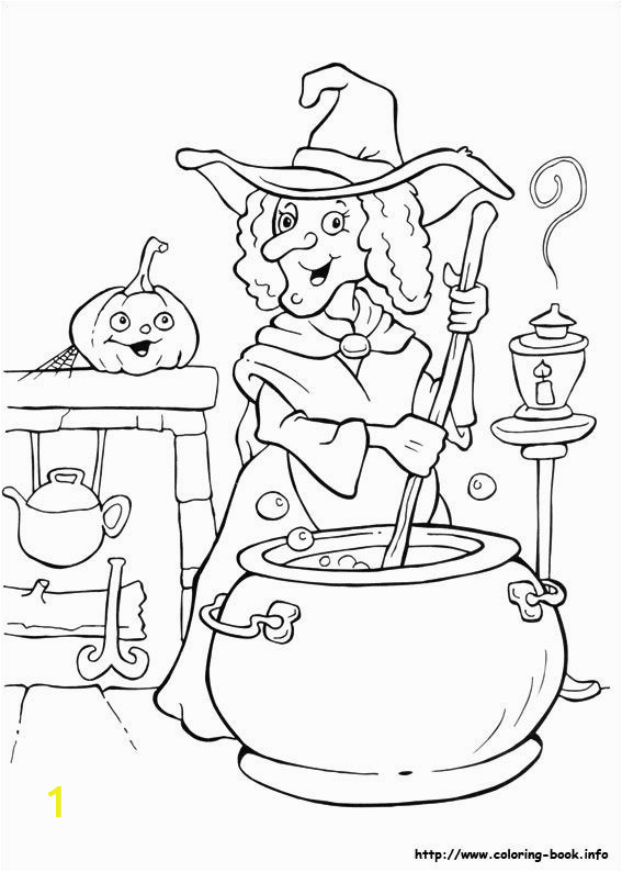 Halloween Witch Coloring Pages for Kids tons Free Printable Halloween Coloring Pages Freebies