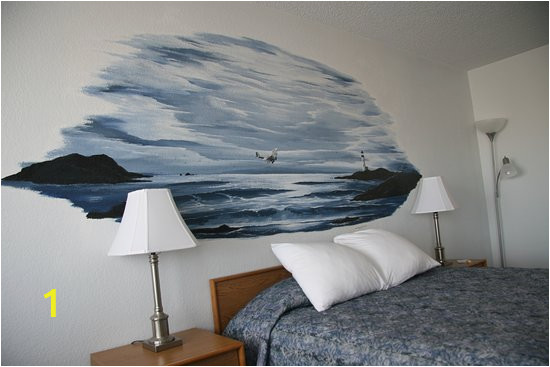 Hand Painted Bedroom Wall Murals Most Rooms Have A Hand Painted Mural On the Wall Above Your