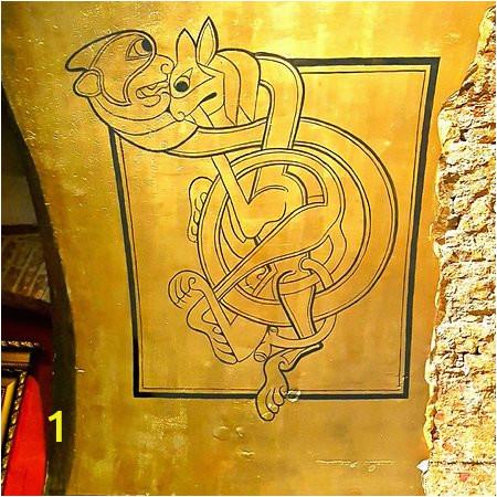 cellar lounge mural