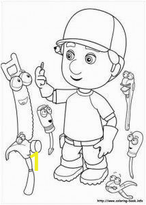 Handy Manny Coloring Pages Handy Manny Online Coloring Page 25