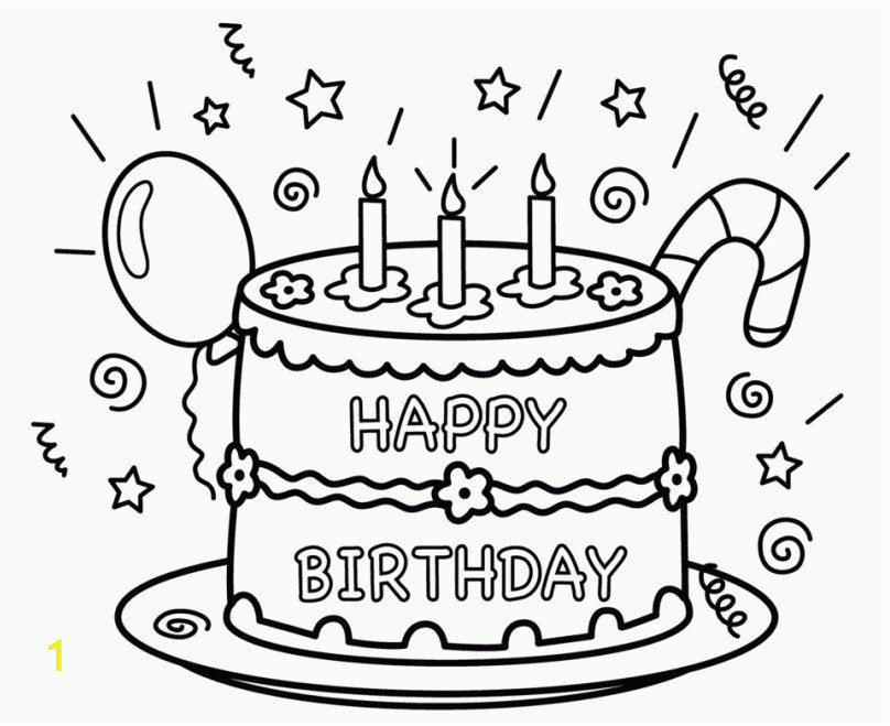 cdd4f3a a40dc723d0cef6dcba birthday coloring pages 25 free printable happy birthday coloring 808 659