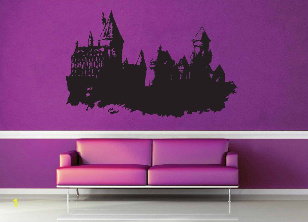 Harry Potter Castle Wall Mural Hogwarts Castle Harry Potter Wall Decal No 1