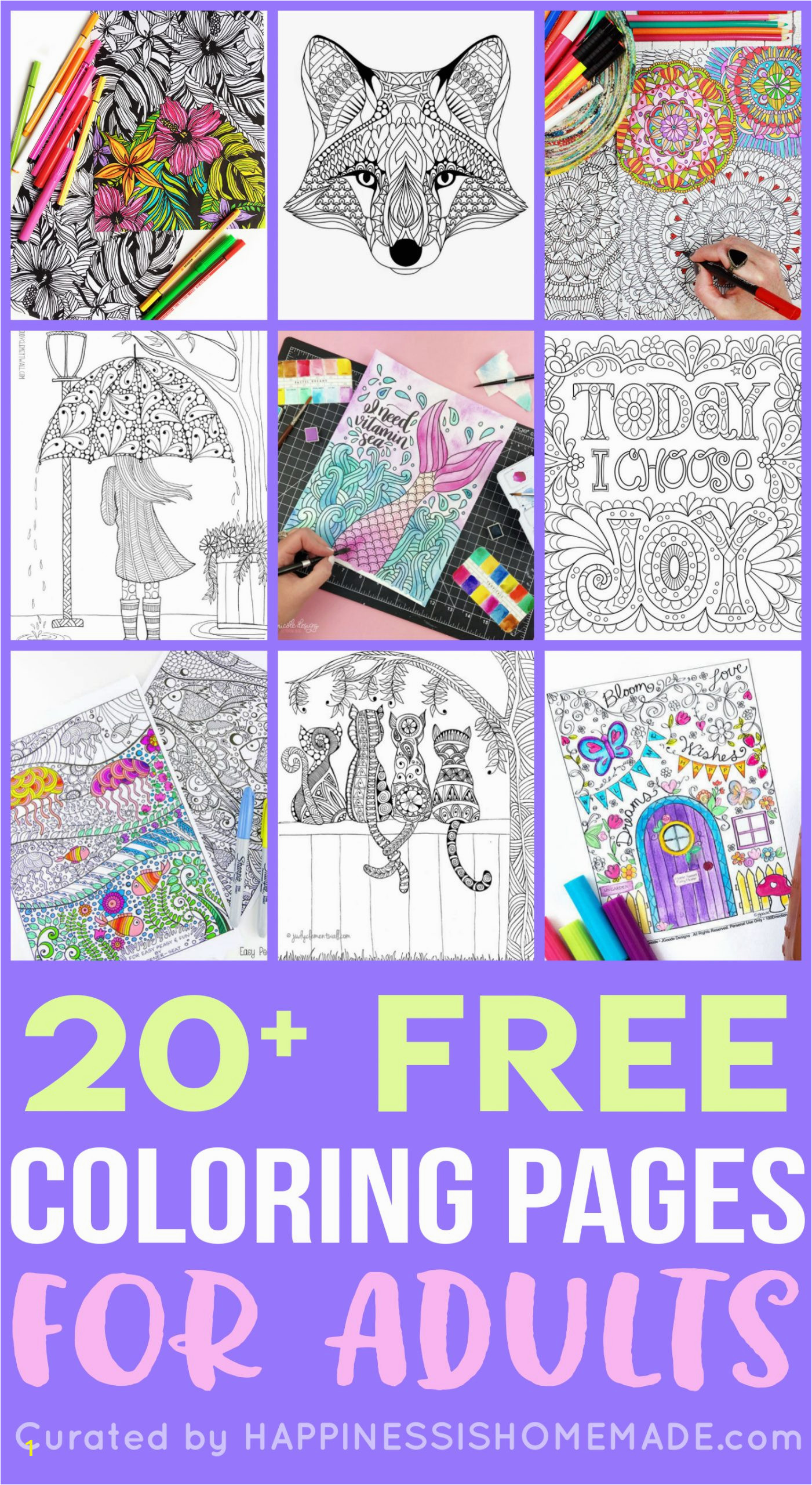 adult coloring pages for kids stress relief mandala batman and robin mustang disney channel balloon reducing printable sheets girls harry potter magical creatures colouring book kitten scaled