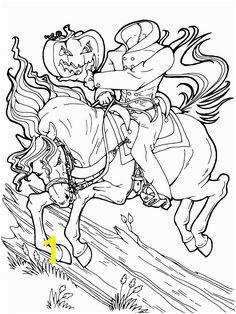 369e7faab059e c52e ad headless horseman halloween coloring