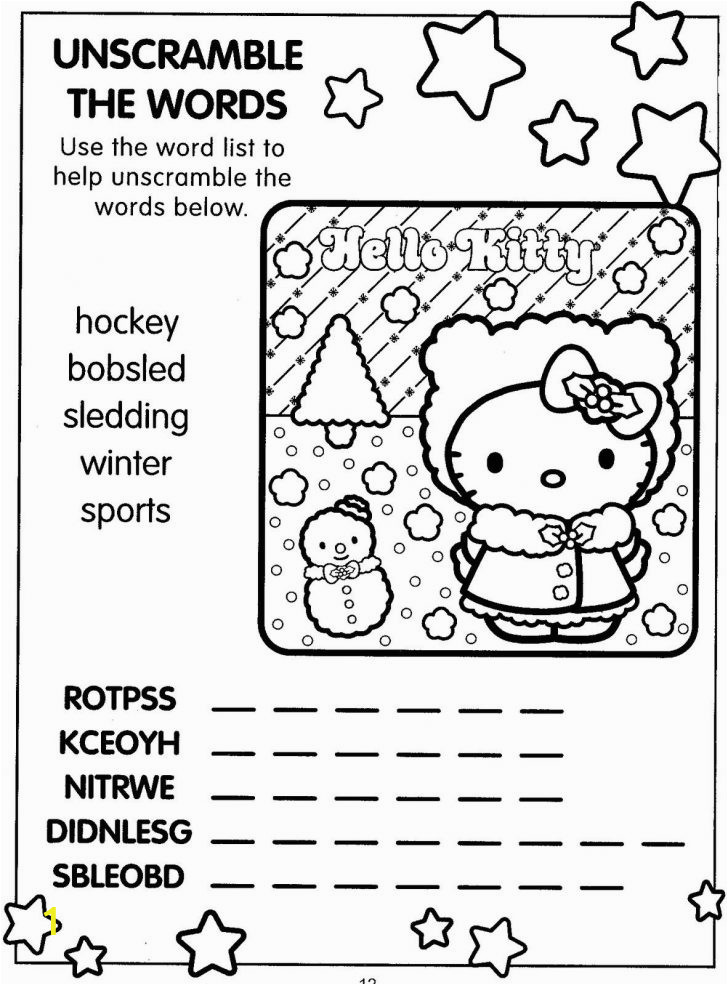 hello kitty christmas coloring pages mermaids in paradise book karate printable the greatest showman flower sheets for year olds spongebob paw patrol colouring page of peacock adult to 728x985