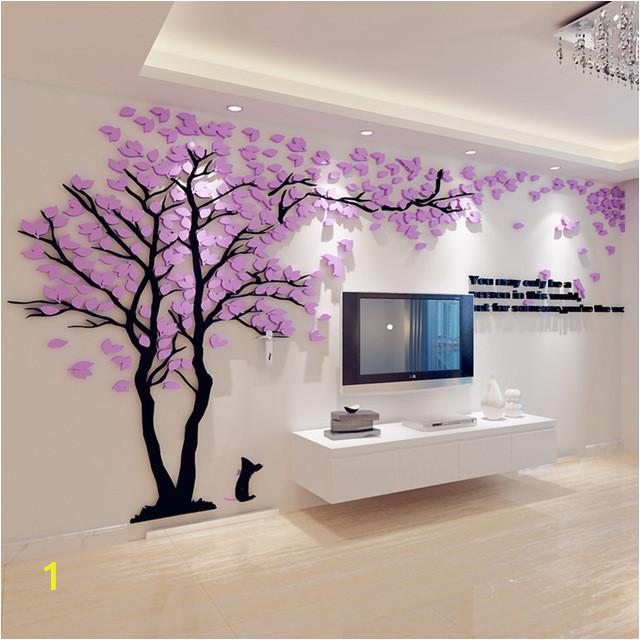 3d big tree wall murals for living room bedroom sofa backdrop tv concerning 3d tree wall art of 3d tree wall art