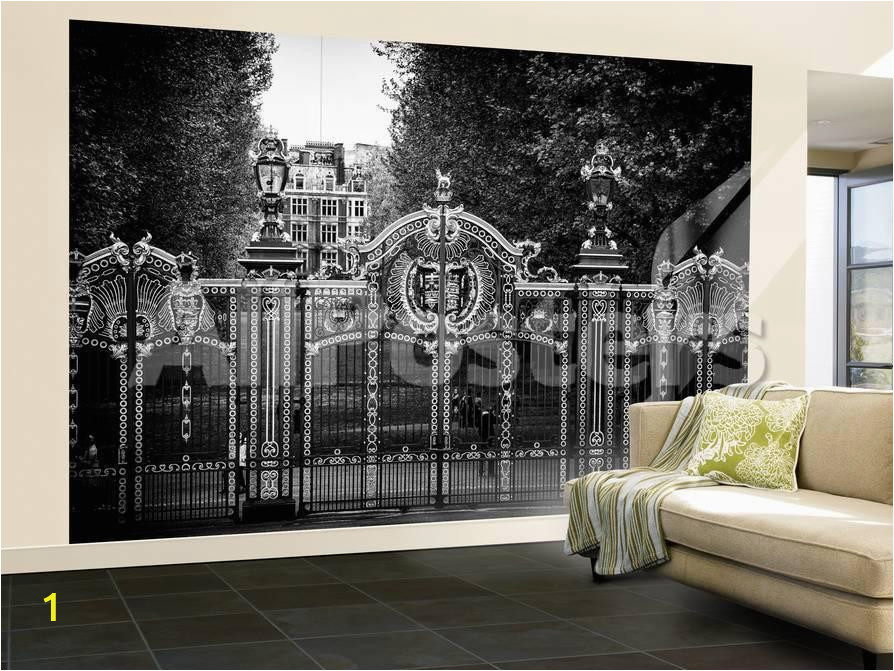 philippe hugonnard wall mural gate at buckingham palace green park london uk england united kingdom a G