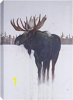"Home Depot Canada Wall Murals Artmaison 48"" H X32"" W Golden Moose by Daniel St Amant"