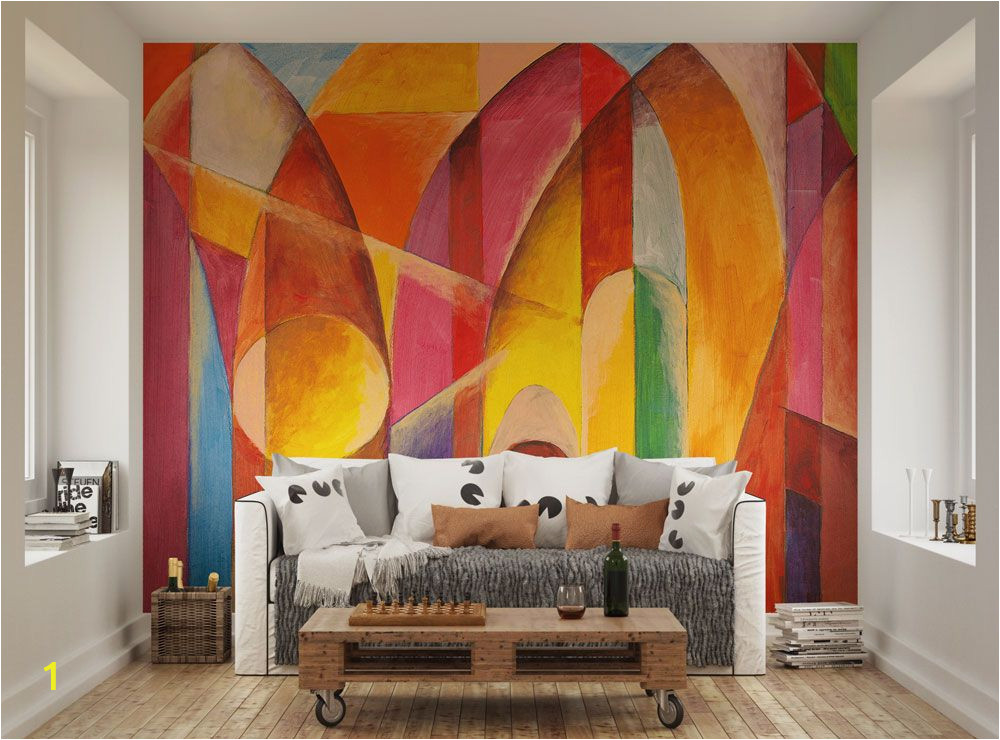 Home Wall Mural Painting Singapore Arches Wallpaper Mural Ohpopsi Home