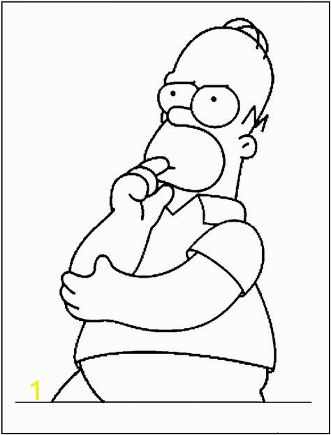 0d90a ef6536d b f3a homer simpson coloring pages