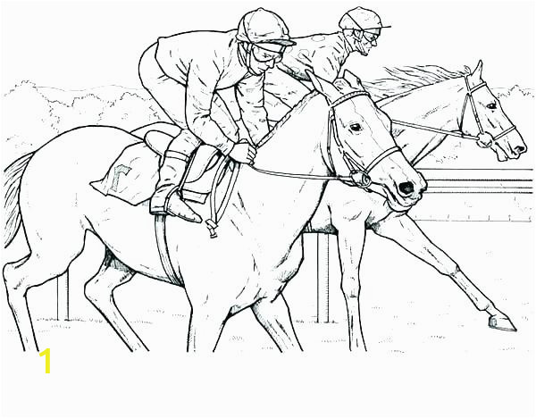 d562bf b922a1a7938ec18ab3c79 racing coloring pages race car coloring page horse racing coloring 600 468