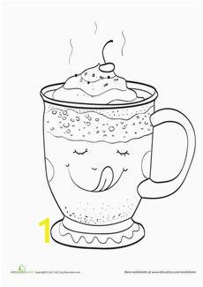 Hot Cocoa Coloring Page Die 980 Besten Bilder Von Bildchen