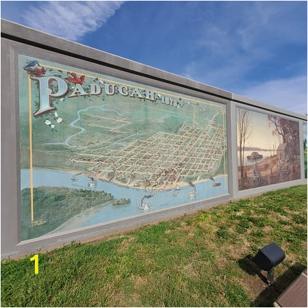 paducah flood wall mural