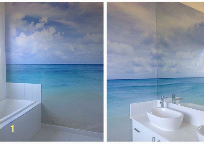 How to Paint A Beach Wall Mural Simple Beach Mural Not too Much to It but Skillfully