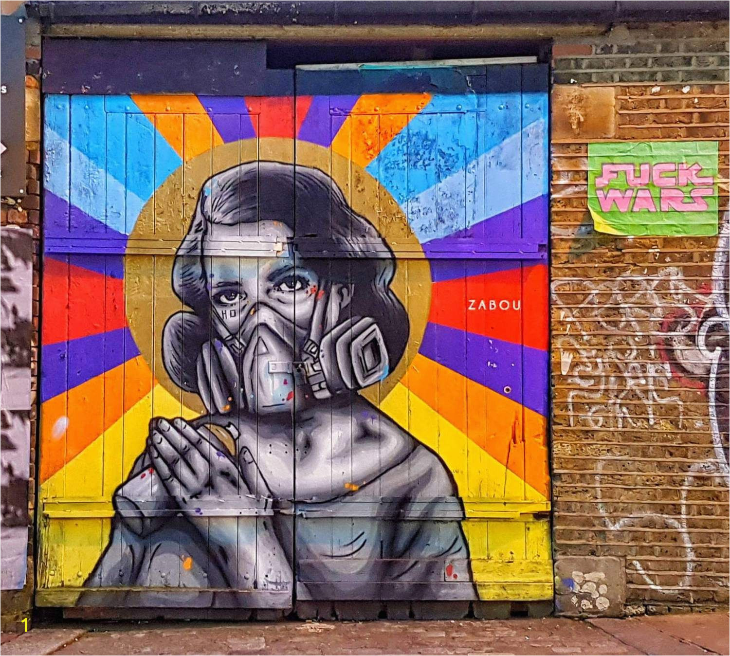 How to Paint A Mural On A Brick Wall Brick Lane Street Art the Most Beautiful In London