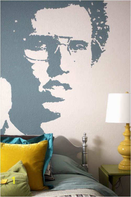 How to Paint A Wall Mural with A Projector Napoleon Dynamite