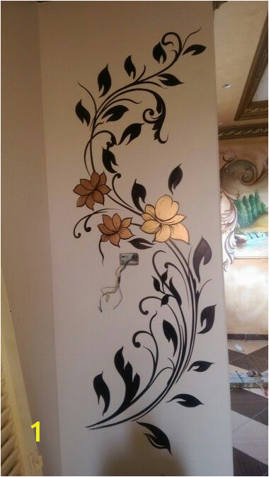 How to Paint Wall Murals Patterns مود رن