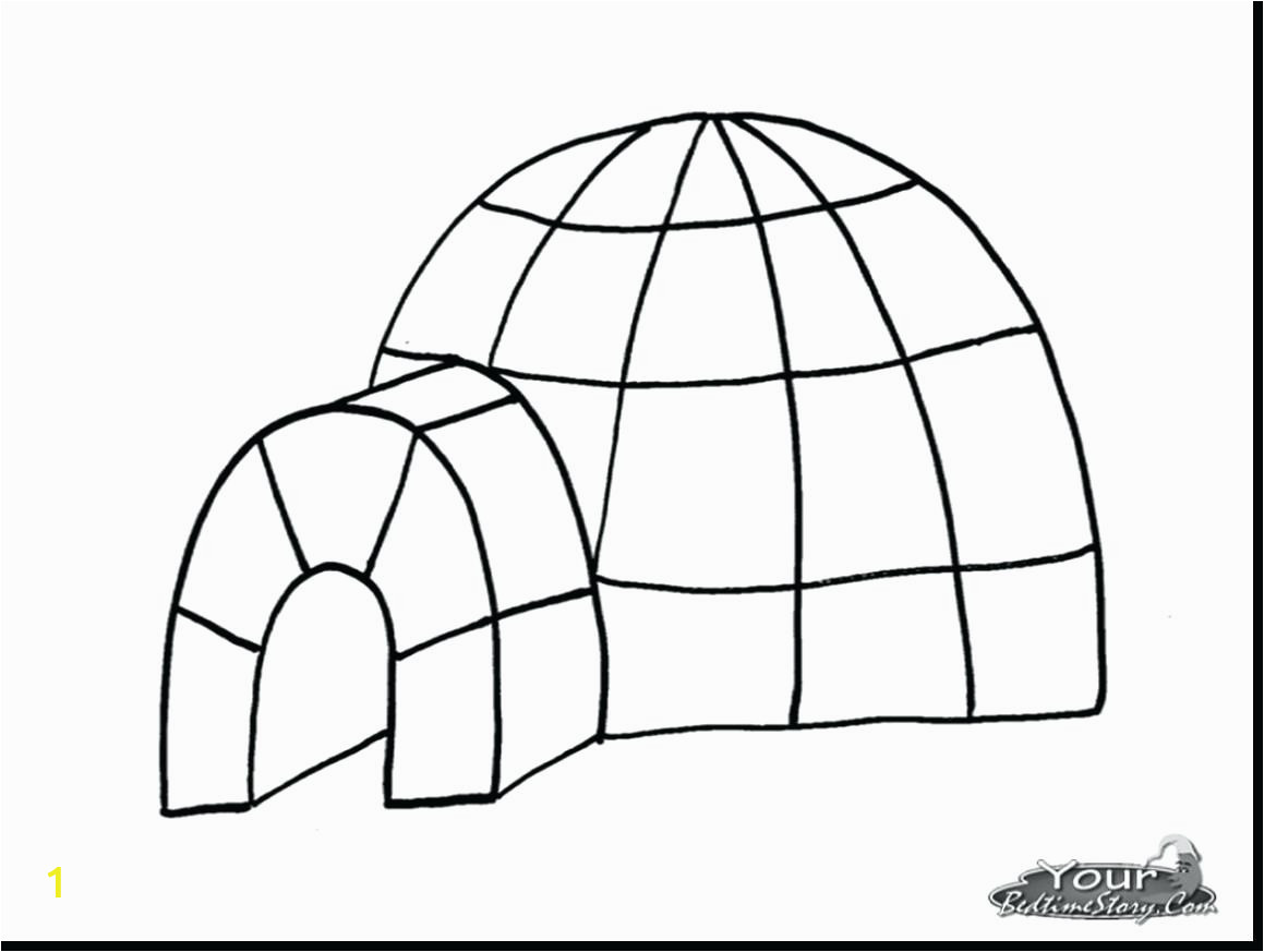 immediately igloo coloring page extraordinary letter printable