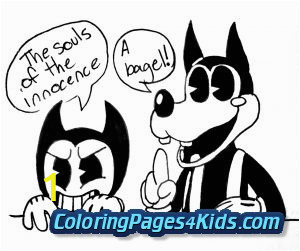 bendy and the ink machine coloring pages 11 300x251