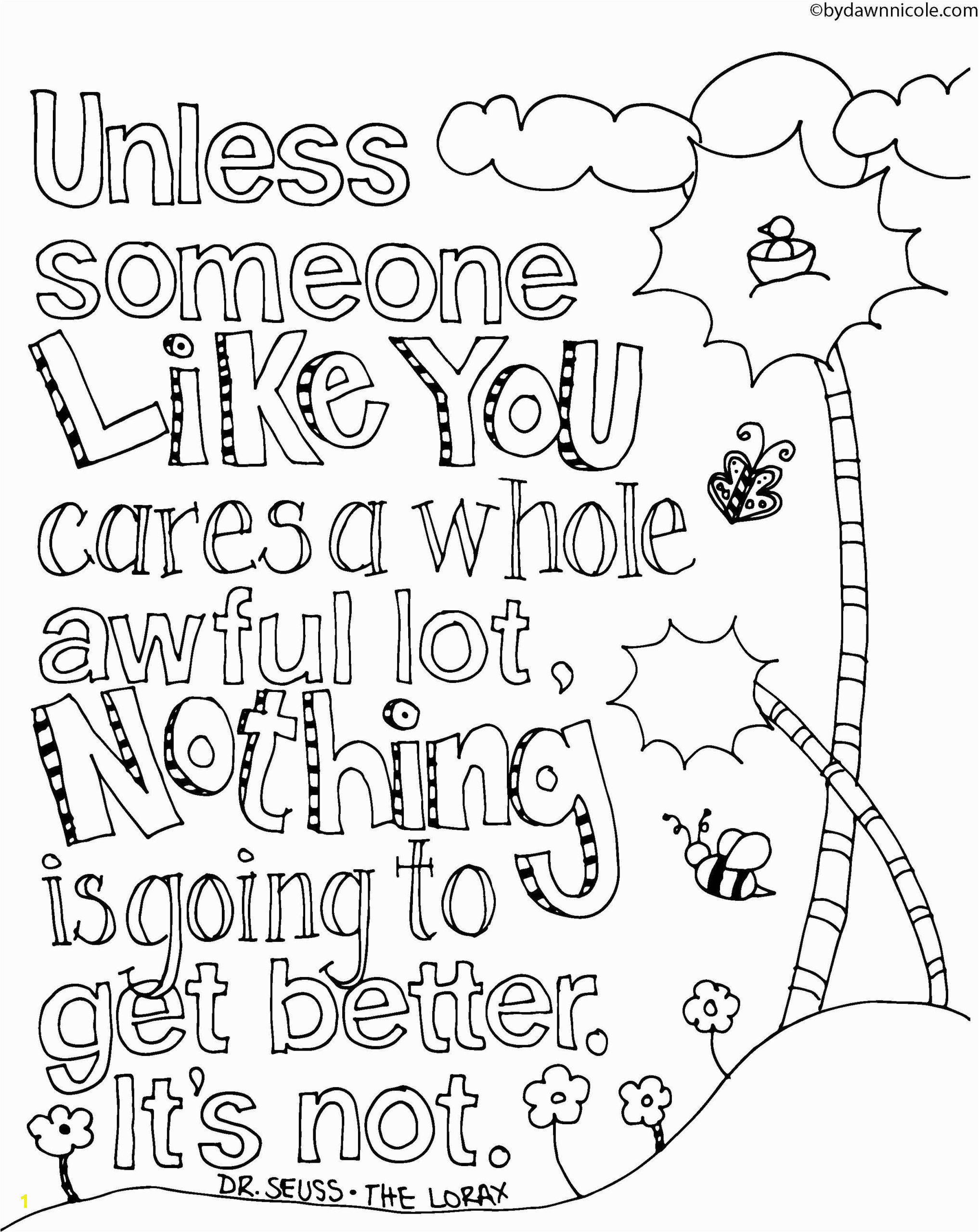 black and white positive quotes coloring pages printable free for scaled