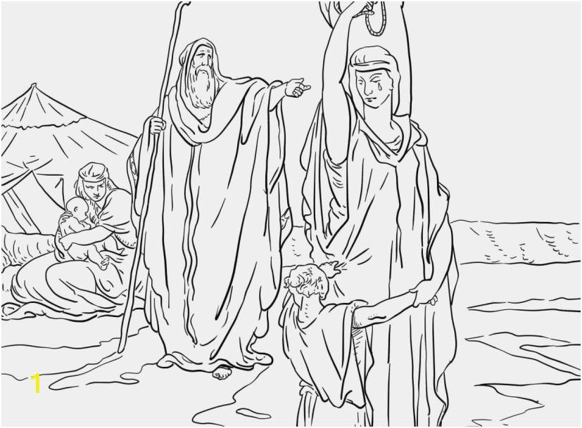 isaac and rebekah coloring pages pic the expulsion of hagar and ishmael coloring page from abraham of isaac and rebekah coloring pages