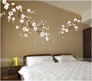 Japanese Cherry Blossom Tree Wall Mural Japanese Cherry Blossom Wall Art Decals