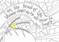 Jesus is the Bread Of Life Coloring Page 707 Best Sunday School Images In 2020