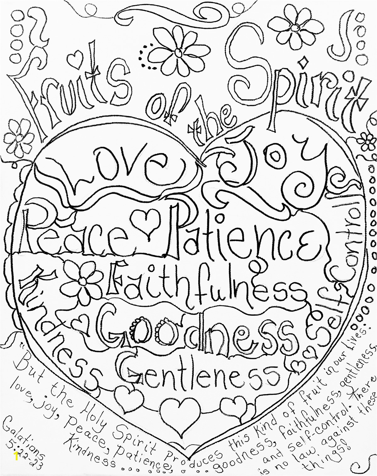 Joy Fruit Of the Spirit Coloring Page 134 Best Ksbc Images In 2019
