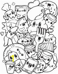 Kawaii Cute Coloring Pages Awesome Kawaii Food Coloring Pages Luxury the Cartoon Sea
