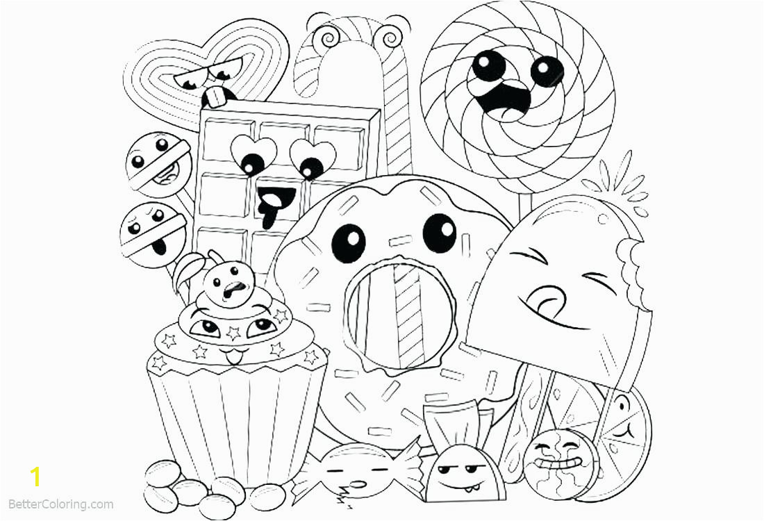 cuteod coloring pages printable draw sor girls kawaii kids to print