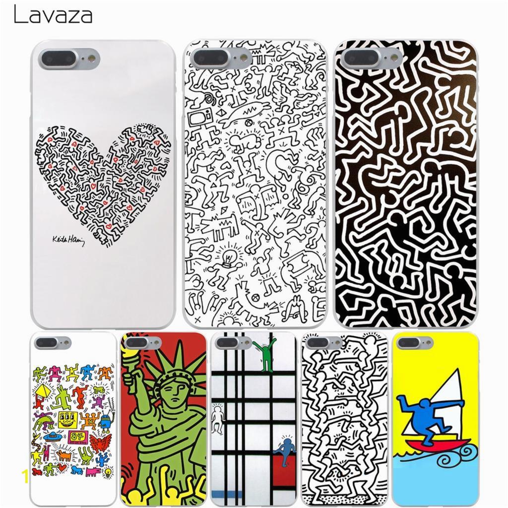 Lavaza Keith Haring Fall f r iPhone XS Max XR X 8 7 6 6 s