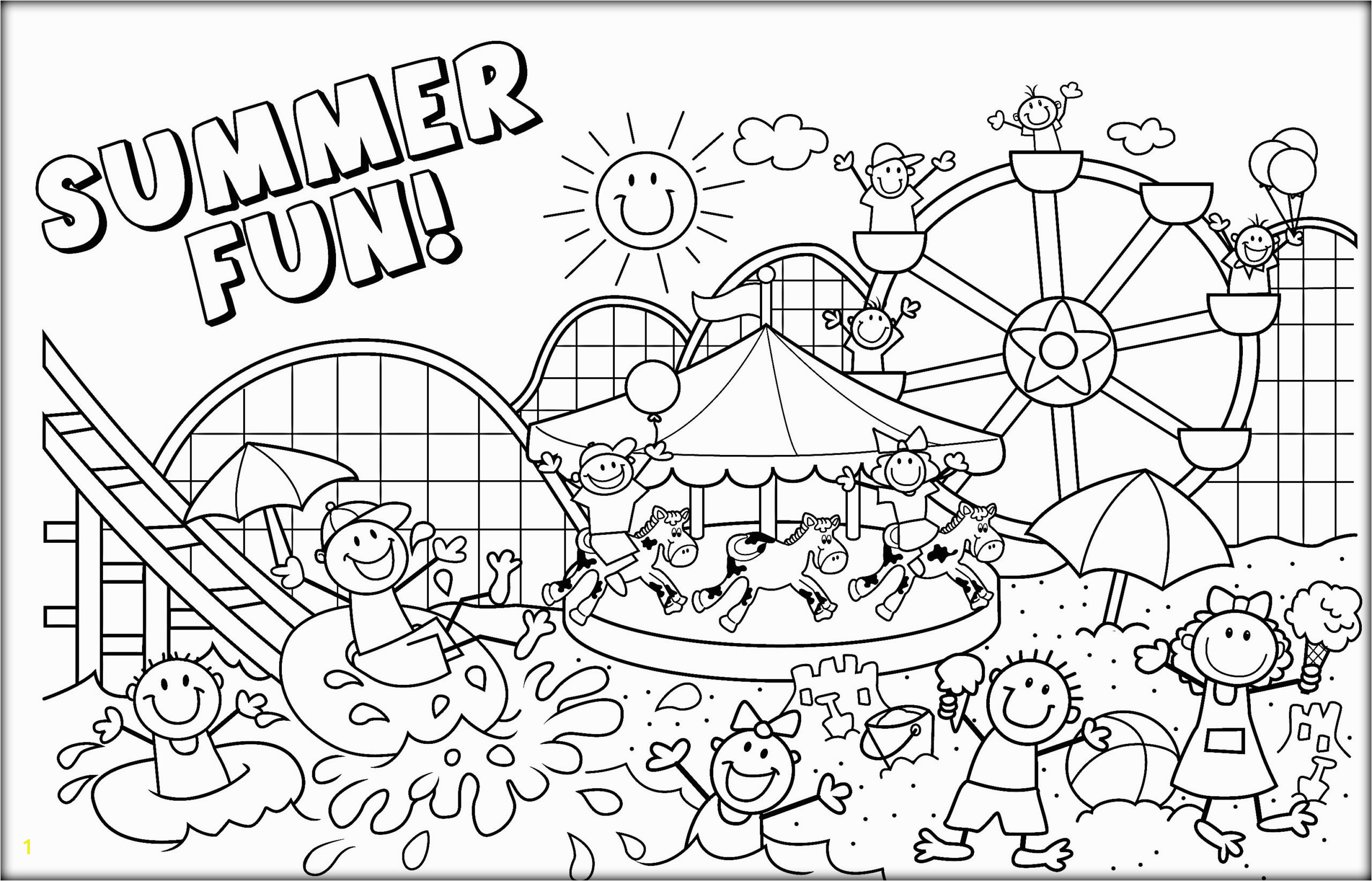 colors adult coloring free printables summer printable disney print outs pages color page marvelous summertable proven beach for adults sheets holiday end of vacation