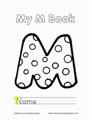 Kids Letter Coloring Pages Homeschooling