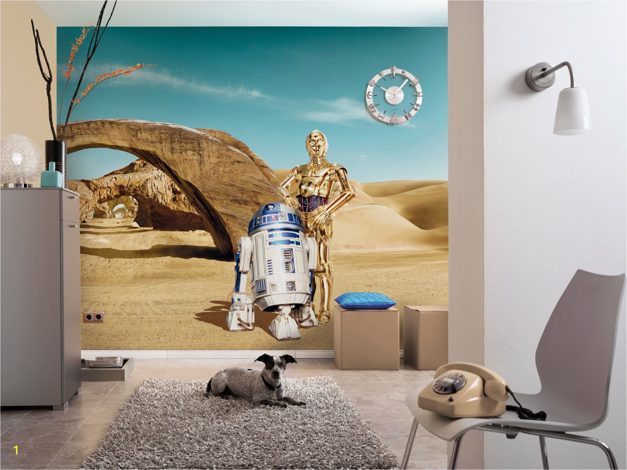 Komar National Geographic Wall Murals Fototapete Star Wars Lost Droids