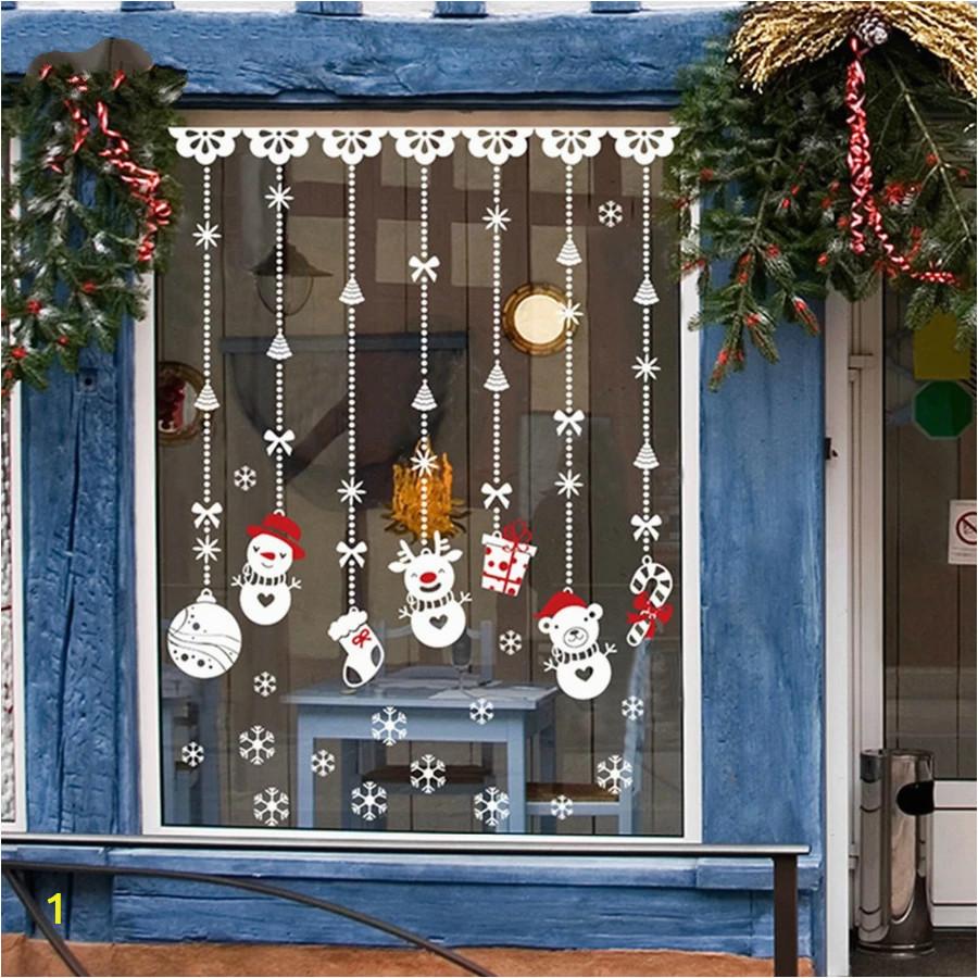 Large Christmas Wall Murals Weihnachtsdeko Fenster Deko Weihnachten Christmas