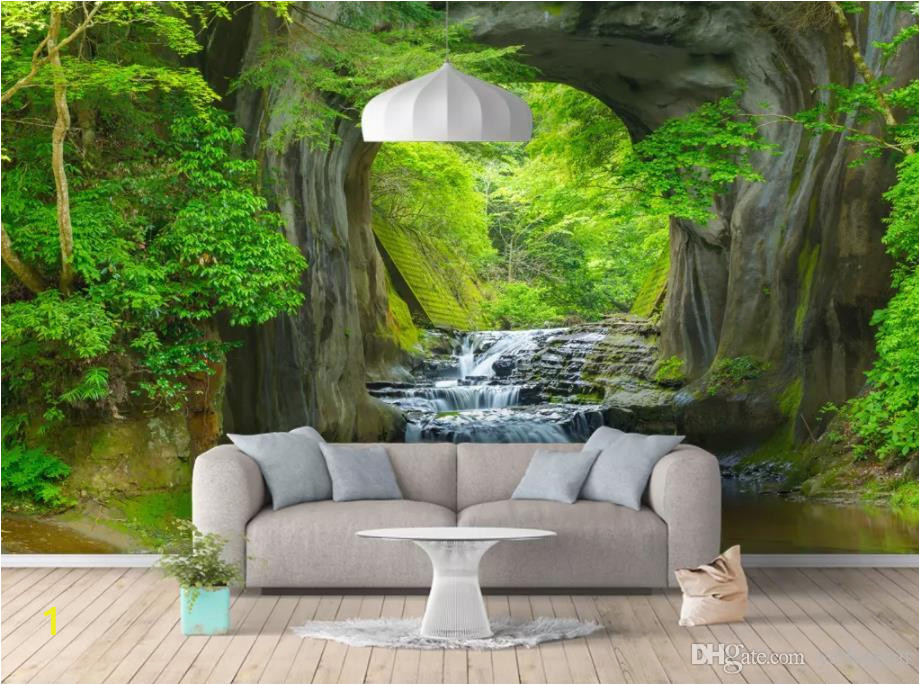custom photo wallpaper forest wall wallpaper