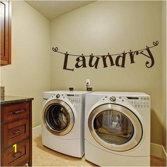 Laundry Room Wall Murals Laundry Room Wall Decals Laundry Room Decal Laundry Room