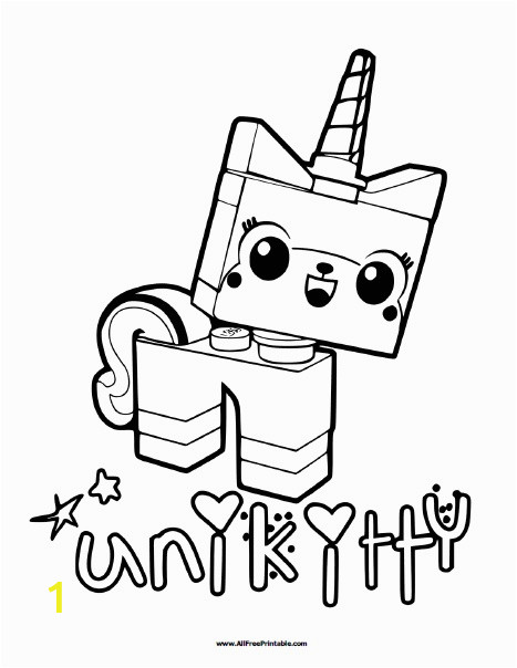 free coloring pages unikitty