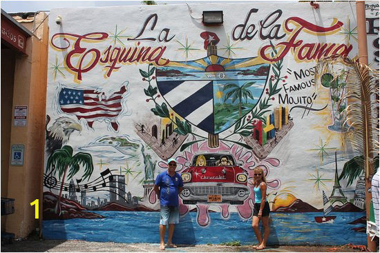 Little Havana Wall Mural Address Kleines Kuba In Miami Little Havana Miami
