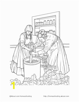 Little House On the Prairie Coloring Page Print Pioneer Life Activities for Your Classroom