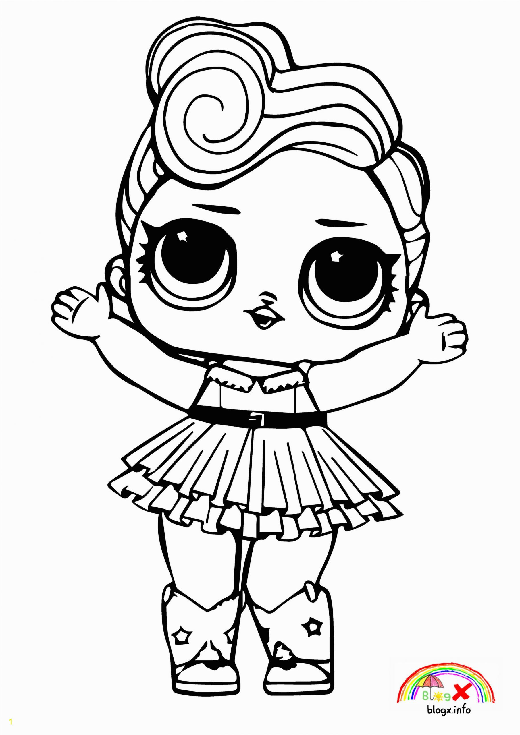 Lol Girl Coloring Pages Lol Surprise Dolls Coloring Book Hd
