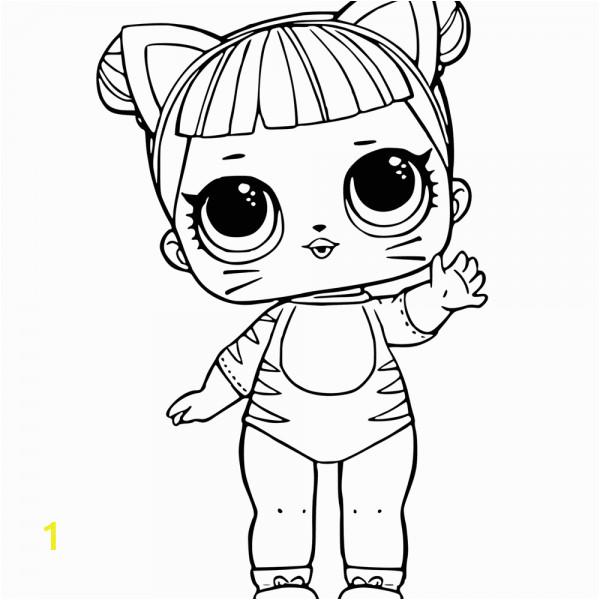 Lol Surprise Doll Coloring Page Divyajanani Org
