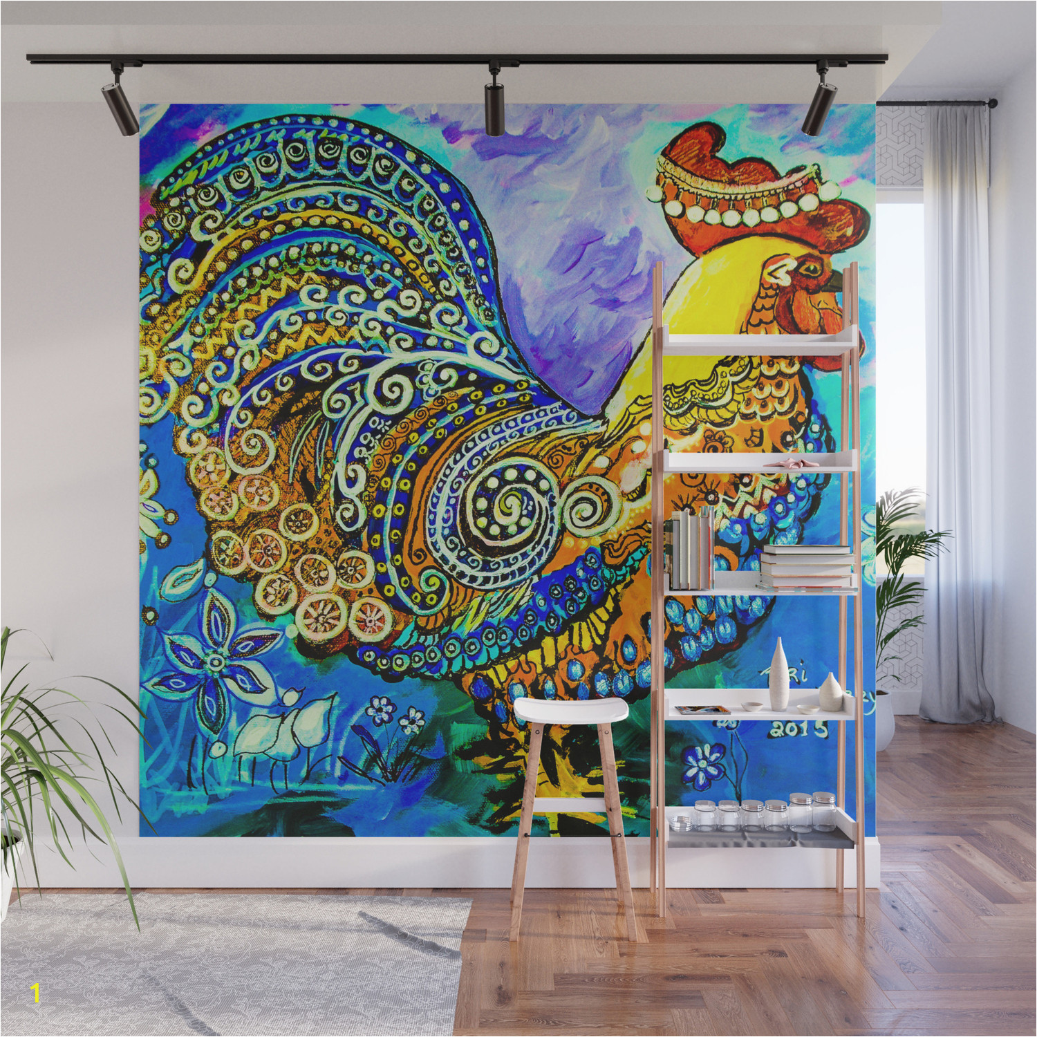 crazy chicken kz3 wall murals