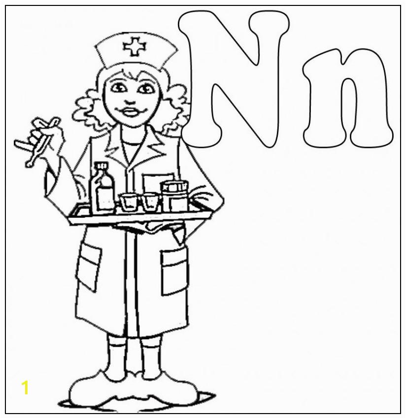 Male Nurse Coloring Pages Free Nurse Download Free Clip Art Free Clip Art
