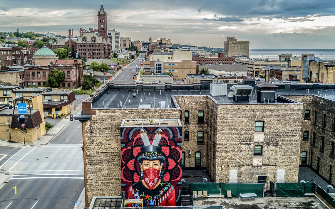 Manchester City Wall Mural Native Statement Mural Nearing Pletion In Downtown