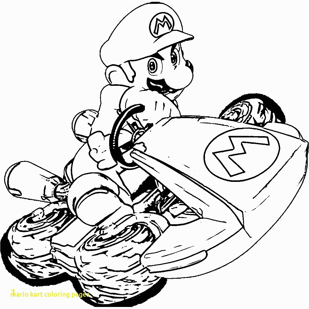 d33c6dbaab87abcbfa4a c2a1a2 28 collection of super mario kart coloring pages high quality 1203 1203