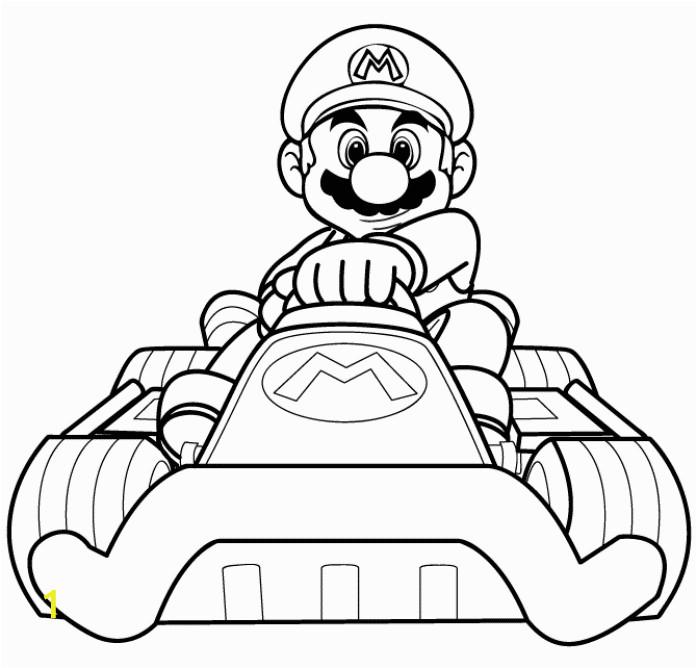 Mario Motorcycle Coloring Pages | divyajanani.org